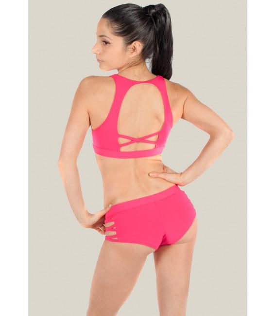 Isadora Shorts Shocking pink