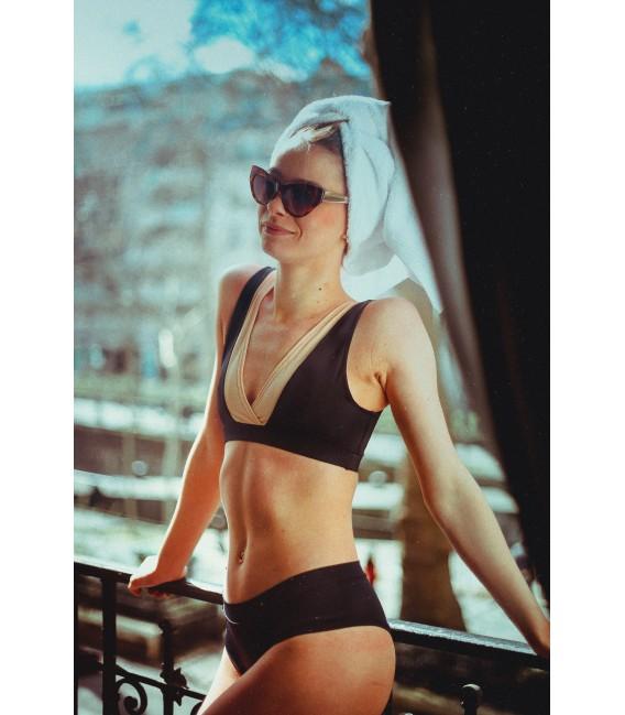 Stella Top Black / Blush