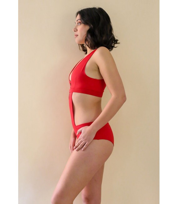Vertige Bodysuit Passion Rouge