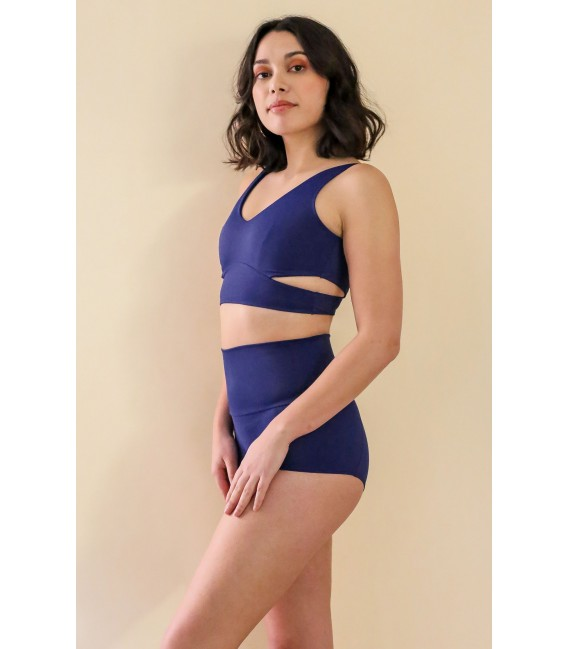 Juliette Bottom Navy Blue