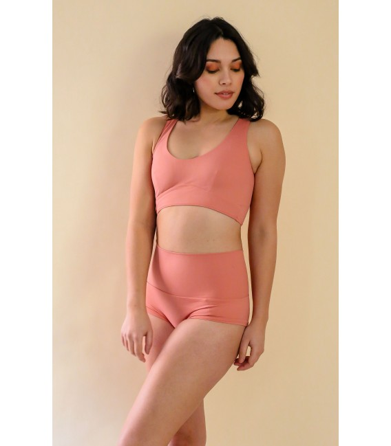 Louise Top Terracotta Pink
