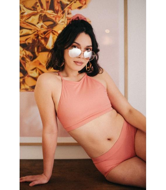 Gaby Top Terracotta Pink