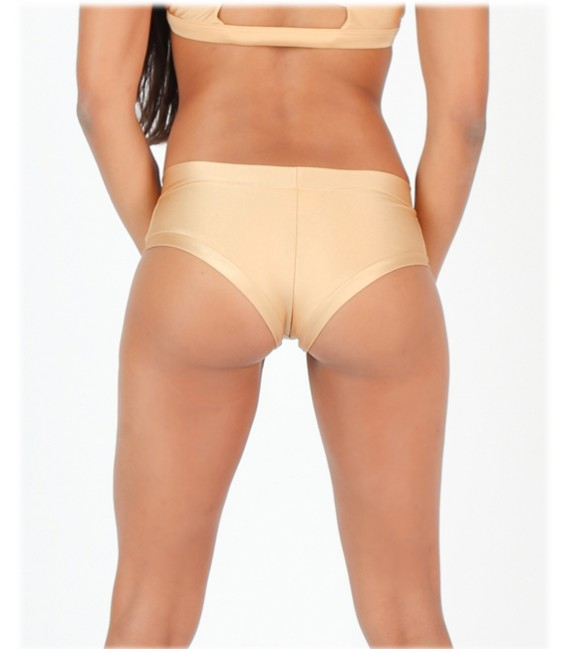 Mimi Shorts Cream Gold