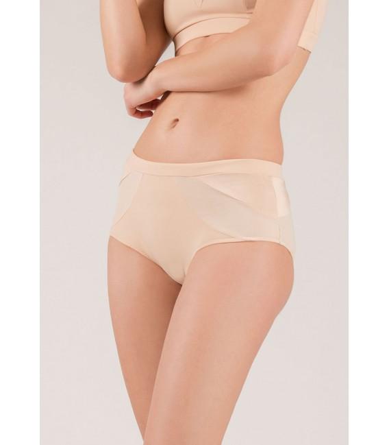 Crescent Moon Nude shorts