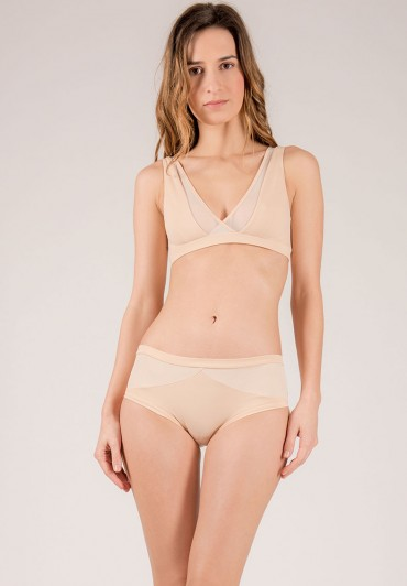 Diamant Nude shorts