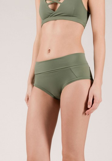Extended Bottom Army Green