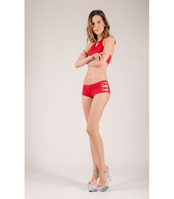 Short Isadora Rouge Passion
