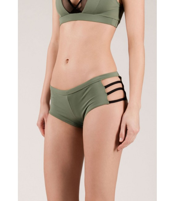Lulu Shorts Army Green