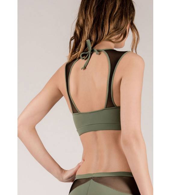 Diane Top Army Green