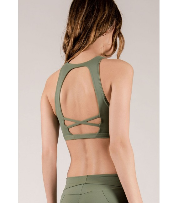 Pigalle Top Army Green