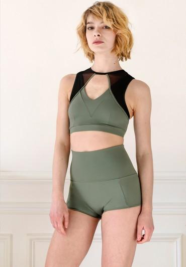 Juliette Bottom Army Green