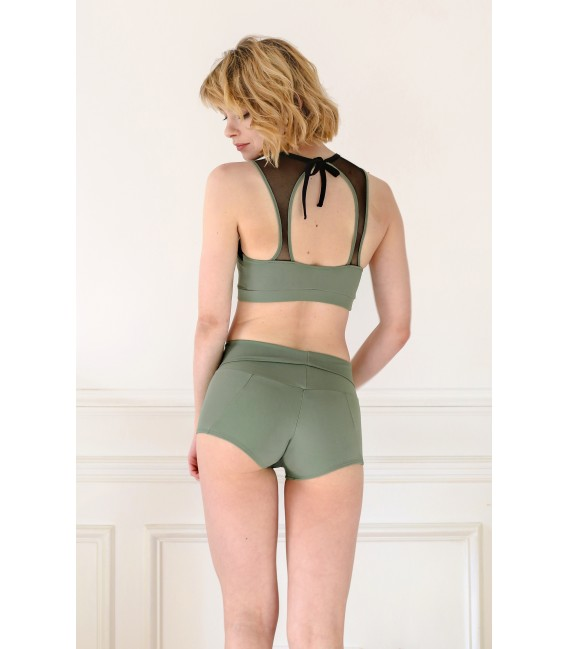 Juliette Bottom Army Green
