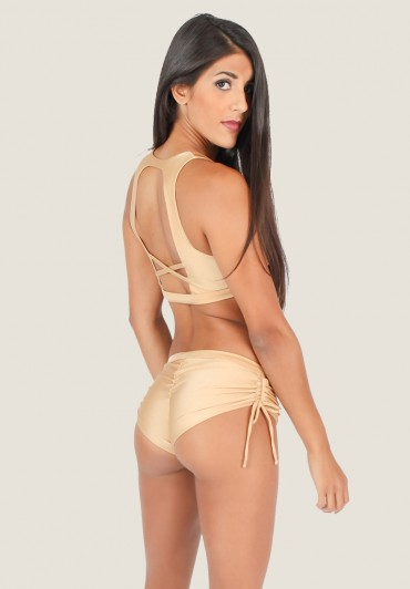 Coco Shorts Cream Gold